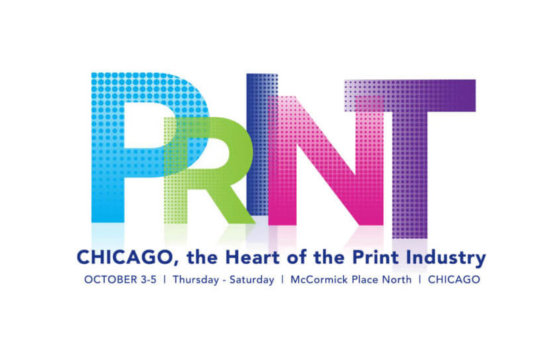 The logo for PRINT 19. Text reads